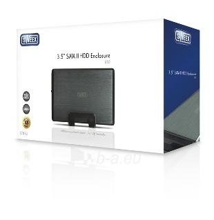 HDD korpusas Sweex 3,5;  SATA II; USB2.0 Paveikslėlis 7 iš 7 250255521726