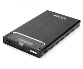 ZALMAN VE300 2.5'' S-ATA->USB3.0 BLACK Paveikslėlis 1 iš 1 250255600170