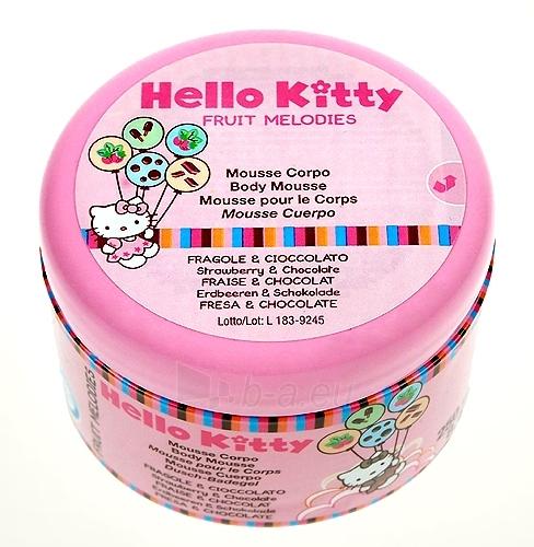 Hello Kitty Fruit Body Cream Strawberry & Chocolate Cosmetic 250ml Paveikslėlis 1 iš 1 250850200015