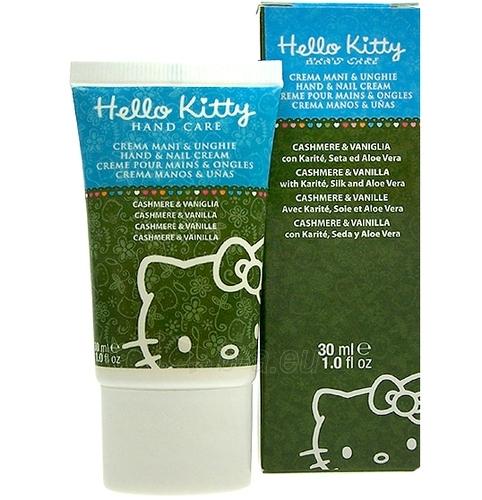 Hello Kitty Hand & Nail Cream Cashmere & Vanilla Cosmetic 30ml Paveikslėlis 1 iš 1 250850400003