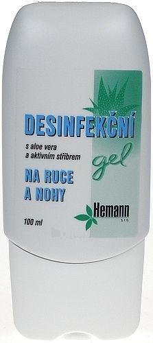 Hemann Disinfectant Gel Cosmetic 100ml Paveikslėlis 1 iš 1 250850400004