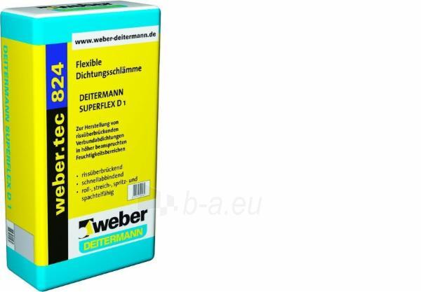 Hidroizoliacija cementinė Weber.tec 824, 20 kg. Paveikslėlis 1 iš 1 310820071148