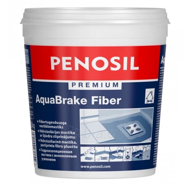 Hidroizoliacinė mastika su fibro pastiprinimu Penosil Premium 1l Paveikslėlis 1 iš 1 310820037089