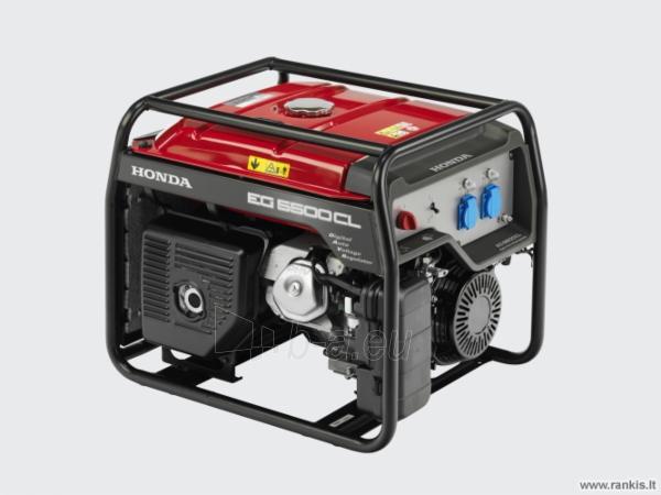 Honda EG 5500 generatorius su D-AVR, 5 kW Paveikslėlis 1 iš 1 310820017631