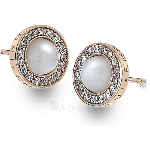 Hot Diamonds earrings Hot Diamonds Emozioni Giove Pearl Rose Gold DE461 Paveikslėlis 1 iš 2 310820025858