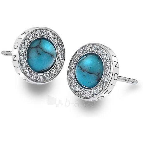 Hot Diamonds auskarai Hot Diamonds Emozioni Giove Turquoise DE462 Paveikslėlis 1 iš 2 310820025859
