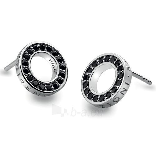 Hot Diamonds sidabriniai auskarai Hot Diamonds Emozioni Nero Saturno Black DE405 Paveikslėlis 1 iš 1 310820024477