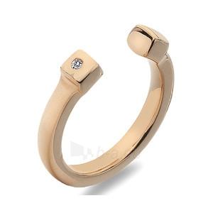 Hot Diamonds sidabrinis žiedas Hot Diamonds Lucky Rose Gold DR166 (Dydis: 58 mm) Paveikslėlis 1 iš 1 310820017413