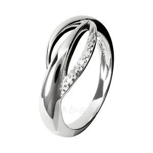 Hot Diamonds sidabrinis ring Hot Diamonds Simply Sparkle DR078 (Dydis: 58 mm) Paveikslėlis 1 iš 1 310820017396