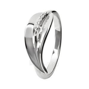 Hot Diamonds sidabrinis ring Hot Diamonds Simply Sparkle DR079 (Dydis: 57 mm) Paveikslėlis 1 iš 1 310820017399