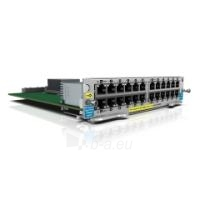 HP ProCurve 24-Port 10/100/1000 PoE+ zl Module for 5400zl and 8200zl Switch series Paveikslėlis 1 iš 4 250257500643