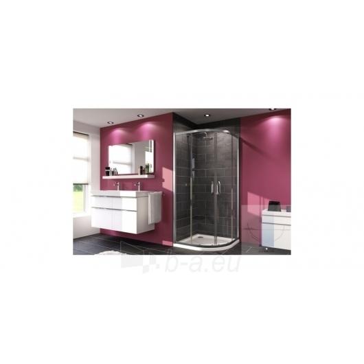Huppe pusapvalė shower 90x90 X1 R-500mm Paveikslėlis 1 iš 1 270730001010