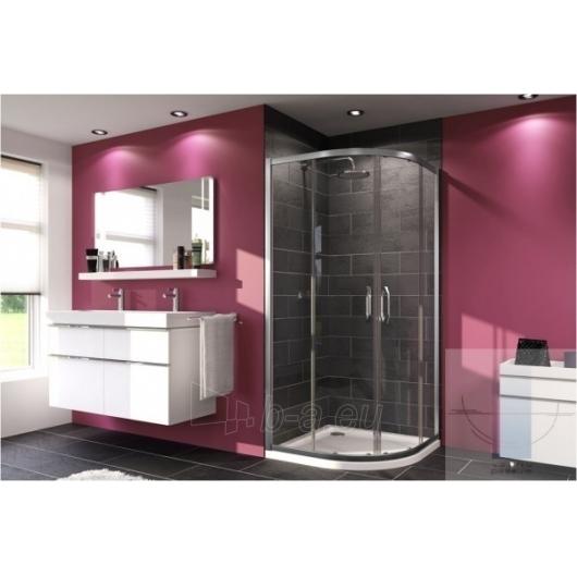 Huppe pusapvalė shower 90x90 X1 R-550mm Paveikslėlis 1 iš 1 270730001011