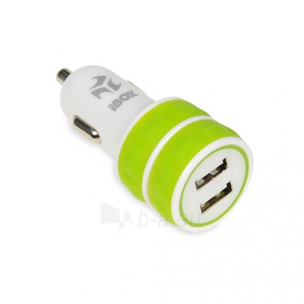 I-BOX 3W1KIT Nustatyti įkrovikliai: Automobilių ir siena çkroviklio USB, 2.1A Paveikslėlis 3 iš 6 310820011408