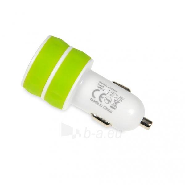 I-BOX 3W1KIT Nustatyti įkrovikliai: Automobilių ir siena çkroviklio USB, 2.1A Paveikslėlis 4 iš 6 310820011408
