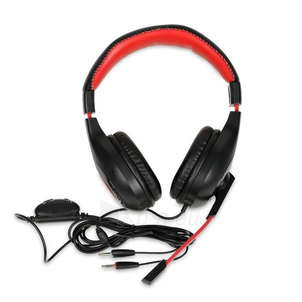I-BOX X4 BLACK Žaidimų ausinės Paveikslėlis 4 iš 7 250255090738