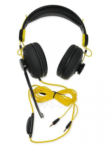 I-BOX X7 BLACK Žaidimų ausinės Paveikslėlis 4 iš 9 250255090739