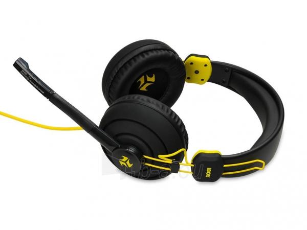 I-BOX X7 BLACK Žaidimų ausinės Paveikslėlis 5 iš 9 250255090739