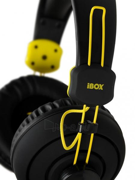 I-BOX X7 BLACK Žaidimų ausinės Paveikslėlis 6 iš 9 250255090739