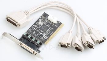 i-tec PCI POS Plokštė 4x Serial RS232 - Maitinimo išvestis DC 5/12V Paveikslėlis 1 iš 2 250255081440