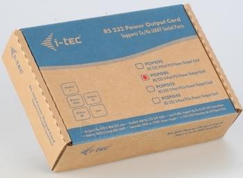 i-tec PCI POS Plokštė 4x Serial RS232 - Maitinimo išvestis DC 5/12V Paveikslėlis 2 iš 2 250255081440
