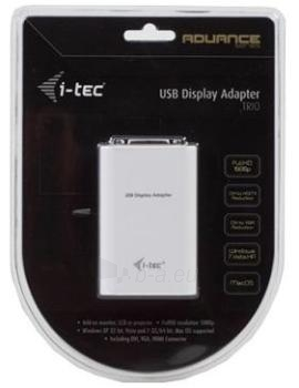 i-tec USB Full HD Adapter TRIO (DVI-I / VGA / HDMI) Paveikslėlis 3 iš 4 250255081442