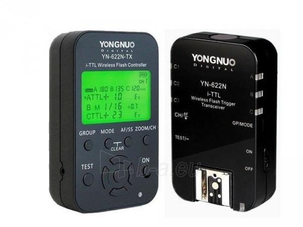 i-TTL radijo siųstuvas/imtuvas Yongnuo YN-622N KIT Paveikslėlis 1 iš 5 30025400130
