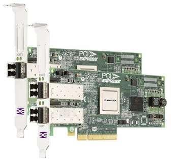 IBM EMULEX 8GBIT FC HBA PCI-E 2-PT. Paveikslėlis 1 iš 1 250255400141