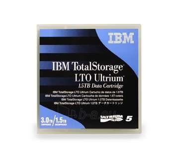 IBM LTO TAPE 1.5TB/W LABEL-LIBRARY PACK Paveikslėlis 1 iš 1 250256800079