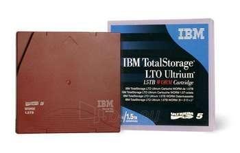 IBM LTO TAPE WORM 1.5TB WITH LABEL Paveikslėlis 1 iš 1 250256800081