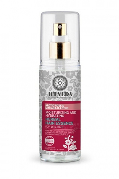 Iceveda Herbal Essence for Hair Emollient and Hydration with Arctic Rose and Lotus 125 ml Paveikslėlis 1 iš 1 310820104174