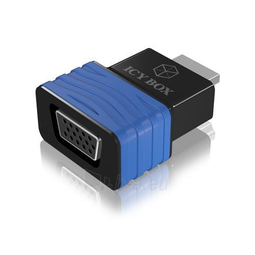 IcyBox HDMI to VGA Adapter Paveikslėlis 1 iš 2 250255081545