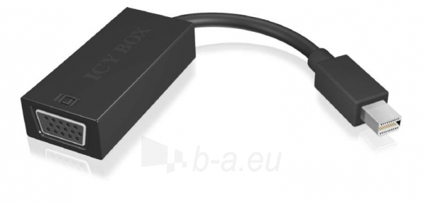 IcyBox miniDP to VGA Adapter Cable Paveikslėlis 1 iš 2 250255081548