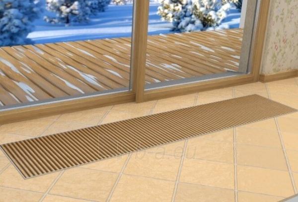 Įleidžiamas grindinis šildymo/vėsinimo konvektorius su vėdinimo pajungimu FCHV 250x36x16 Paveikslėlis 4 iš 5 310820164580