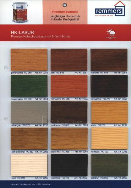 Impregnant Aidol HK- Lasur eiche hell-šviesus oak 20 ltr. Paveikslėlis 2 iš 2 236860000396