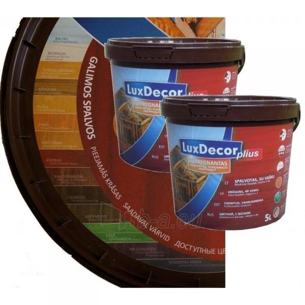 Impregnantas LuxDecor 10 ltr.(spalva pasirinktinai) Paveikslėlis 1 iš 1 236860000151