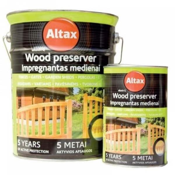 Impregnantas medienai ALTAXIN ruda 5l Paveikslėlis 1 iš 1 310820037065