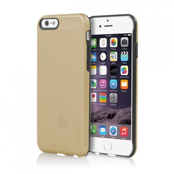 Incipio Feather Shine telefono dėklas Apple iPhone 6 telefonui (Aukso spalvos) Paveikslėlis 1 iš 6 250232002801