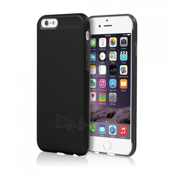 Incipio Feather Shine telefono dėklas Apple iPhone 6 telefonui (Juodas) Paveikslėlis 1 iš 6 250232002803