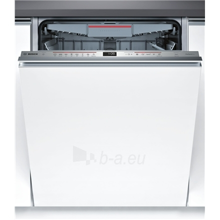 Indaplovė Bosch Dishwasher SMV68MX04E Built in, Width 60 cm, Number of place settings 14, Number of programs 8, A+++, Display, AquaStop function Paveikslėlis 1 iš 7 310820119327