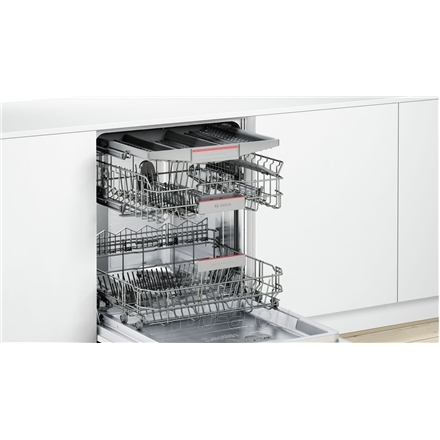 Indaplovė Bosch Dishwasher SMV68MX04E Built in, Width 60 cm, Number of place settings 14, Number of programs 8, A+++, Display, AquaStop function Paveikslėlis 2 iš 7 310820119327