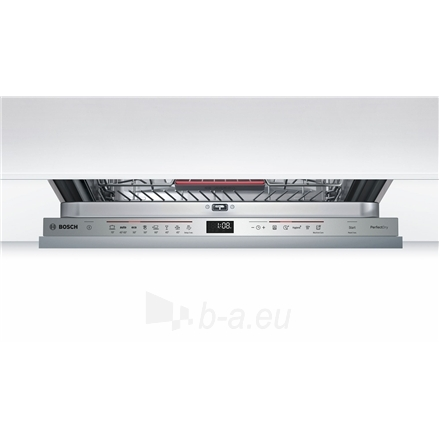 Indaplovė Bosch Dishwasher SMV68MX04E Built in, Width 60 cm, Number of place settings 14, Number of programs 8, A+++, Display, AquaStop function Paveikslėlis 3 iš 7 310820119327