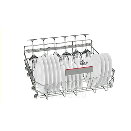 Indaplovė Bosch Dishwasher SMV68MX04E Built in, Width 60 cm, Number of place settings 14, Number of programs 8, A+++, Display, AquaStop function Paveikslėlis 4 iš 7 310820119327