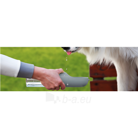 Indas gyvūnams PETKIT Pet Bottle Eversweet Travel Capacity 0.4 L, Material BioCleanAct, Grey Paveikslėlis 3 iš 3 310820222227