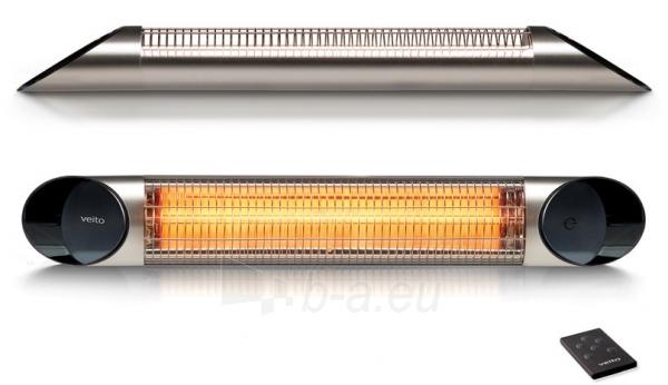 Infraraudonųjų spindulių šildytuvas Veito Blade, 2000W Paveikslėlis 1 iš 1 310820039207