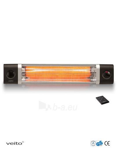 Infraraudonųjų spindulių šildytuvas Veito CH2500 RW Paveikslėlis 1 iš 1 310820039205