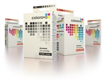 Ink bundle COLOROVO 526-BK+C+M+Y   Canon CLI-526 BK  C  M  Y Paveikslėlis 1 iš 1 2502534500704