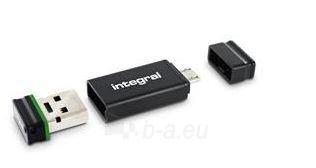Integral Fusion 32GB USB 2.0 Flash Drive  Adapter retail pack Paveikslėlis 1 iš 1 250255123102
