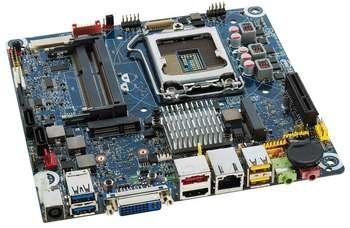INTEL H61 S1155 DDR3 HDMI/DVI MINI-ITX Paveikslėlis 1 iš 1 250255050621