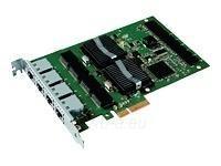 Intel tinklo plokštė Gigabit Pro/1000 PT (4xRJ45) Quad Port Server - Low Profile Paveikslėlis 1 iš 1 250255070070